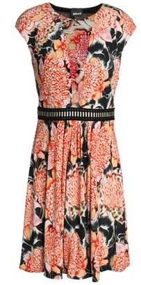 Just Cavalli Printed Jersey Mini Dress