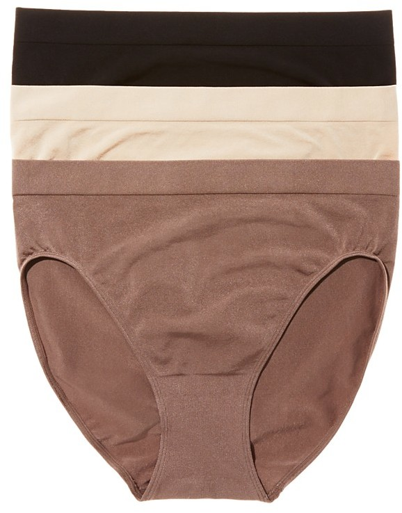 Wacoal b.smooth High-Cut Briefs, Set of 3 #870275