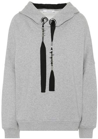 Dorothee Embellished cotton hoodie