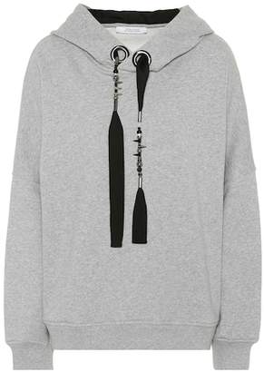 Schumacher Dorothee Embellished cotton hoodie