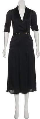 Mayle Silk Midi Dress w/ Tags