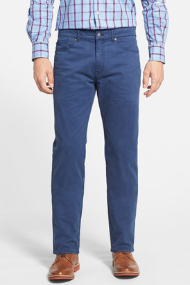Peter Millar Stretch Sateen Five Pocket Pants $145 thestylecure.com