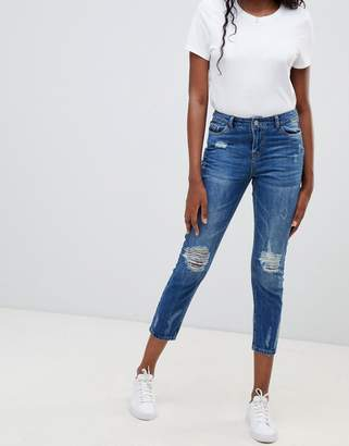 JDY Devil destroyed boyfriend jeans