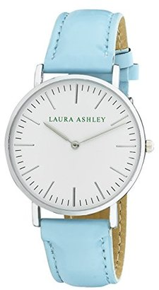 Laura Ashley Women's ' Quartz Metal and Polyurethane Casual Watch, Color:Blue (Model: LA31020BE) $45.13 thestylecure.com