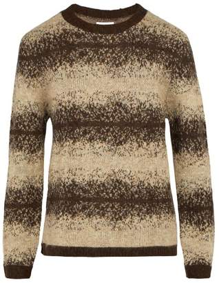 Saturdays NYC Wade Ombre Striped Knit Sweater - Mens - Beige
