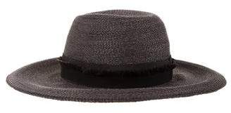 Patricia Underwood Oversize Woven Hat