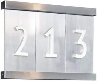 "Rejuvenation 8-1/2"" Aluminum Tile House Numbers"