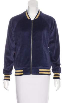 Splendid Velour Embroidered Jacket
