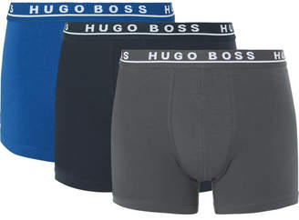 HUGO BOSS Three-Pack Stretch-Cotton Boxer Briefs