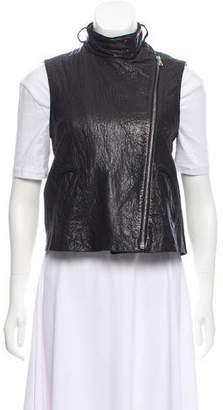 Alexander Wang Moto Leather Vest