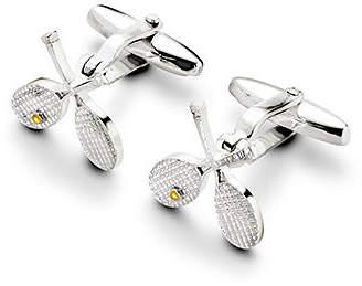 Aspinal of London Sterling Silver Tennis Racquet Cufflinks