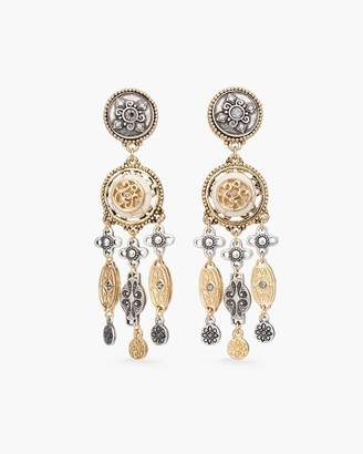 Chico's Chicos Vintage Mixed-Metal Chandelier Earrings