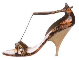 Giuseppe Zanotti Taz 100 T-Strap Sandals