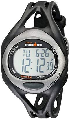 Timex Men's T54281 Ironman Sleek 50 Full-Size Resin Strap Watch