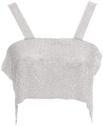 46514b298e9ce Colorido Women Sexy Sparkly Rhinestone Backless Vest Crop Top Clubwear
