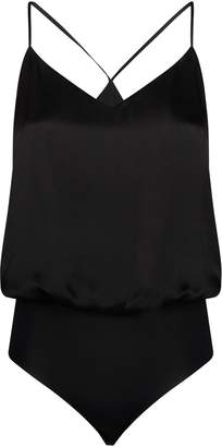 L'Agence Silk Mariela Bodysuit