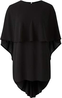 Next Womens Simply Be Cape Sleeve Blouse