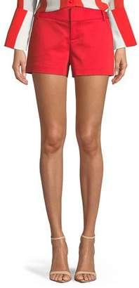 Alice + Olivia Cady Techno Shorts