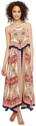 Laundry by Shelli Segal Printed Layered Dress Women's Dress