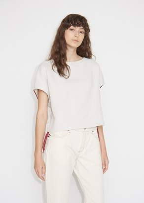 Marni Contrast Drawstring Cotton Sweatshirt