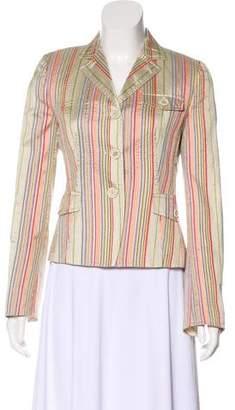 Akris Striped Silk Jacket