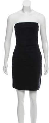 Dolce & Gabbana Strapless Bodycon Dress