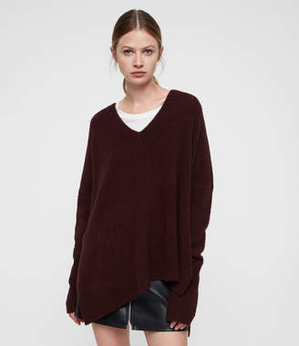 AllSaints Hawk V-neck Sweater