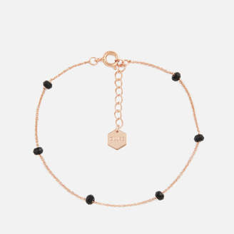 Cluse Women's Essentielle Black Crystals Chain Bracelet