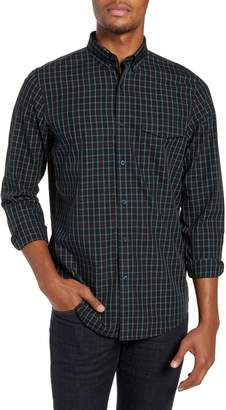 Nordstrom Smartcare(TM) Regular Fit Tartan Sport Shirt