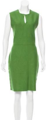 Akris Sleeveless Mini Dress