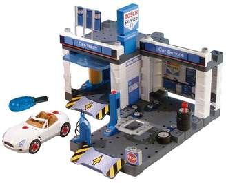 Theo Klein Bosch Car Repair with Car Wash Set