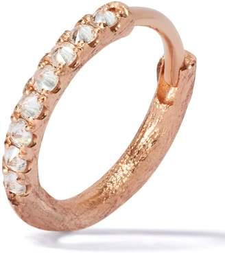 Annoushka Rose Gold Dusty Diamonds Hoop Earring