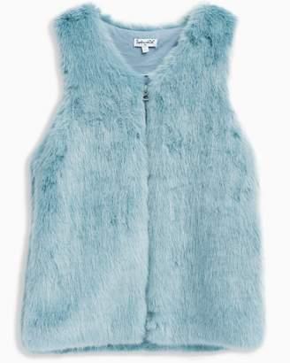 Splendid Girl Faux Fur Vest
