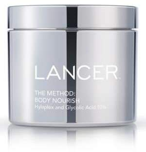 Lancer The Method: Body Nourish Cream With Hylypex and 10% Glycolic Acid/11 oz.