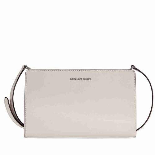 Michael Kors Jet Set Large Crossbody Clutch- Cement - ONE COLOR - STYLE