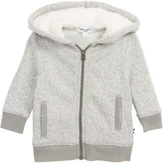 Splendid Marled Fleece Full Zip Hoodie