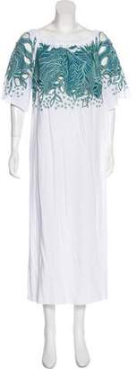 Mara Hoffman Over-The-Shoulder Swim Cover-Up