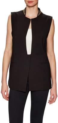 Thomas Wylde Women's Elm Embellished Stand Collar Jacket