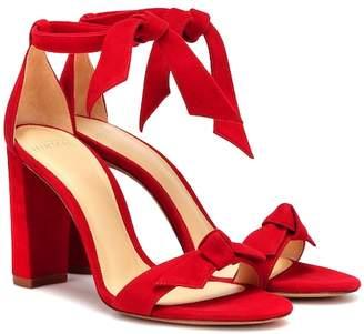 Alexandre Birman Clarita Block suede sandals
