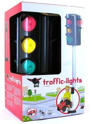 Smoby Simba Big Traffic Lights Ride On Accessory.