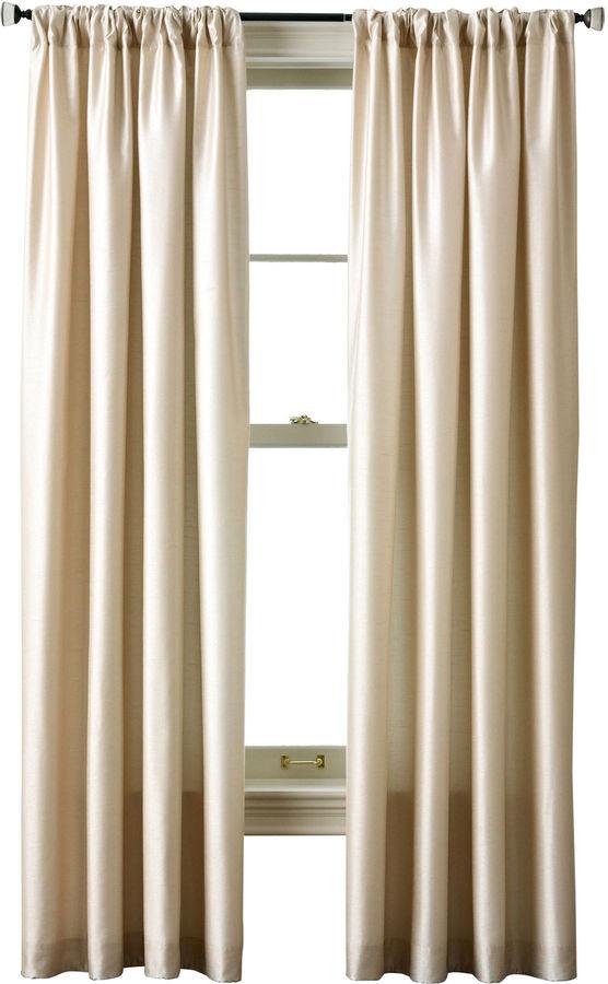 Royal Velvet Encore Rod-Pocket/Back Tab Curtain Panel