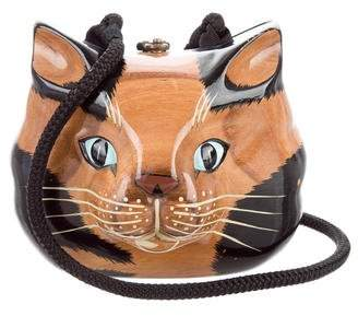 Timmy Woods Feline Carved Bag