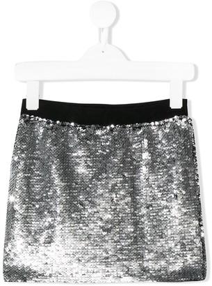 Karl Lagerfeld Paris sequinned mini skirt