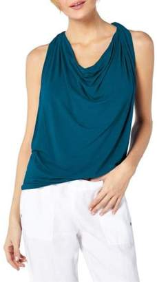Michael Stars Jersey Draped Top