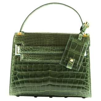 Valentino My Rockstud Green Exotic leathers Handbags