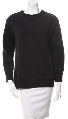 Givenchy Zipper-Accented Pullover Sweatshirt
