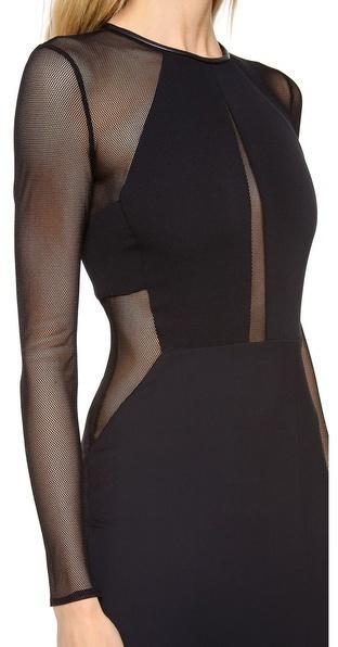 Yigal Azrouel Bi Stretch Tech Dress