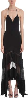 Diane von Furstenberg Cut-out Fringe Dress