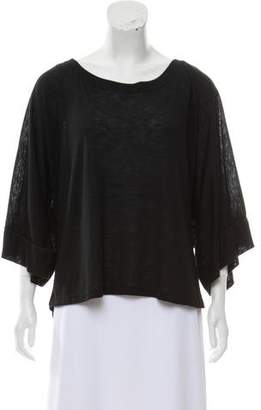 Alexis Oversize Three-Quarter Length Sleeve T-Shirt