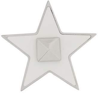 Valentino studded star brooch